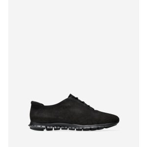 ZEROGRAND Genevieve Perforated Sneakers in Black   Cole Haan