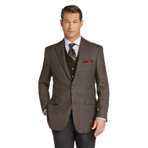 Traveler Collection Traditional Fit Sportcoat -Big & Tall CLEARANCE