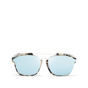 Dior Abstract Square Mirrored Sunglasses, 58mm | Bloomingdale's