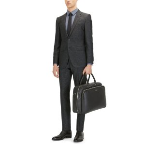 Virgin Wool-Silk Blend Suit, Extra-Slim Fit | T-Reeve/Wain
