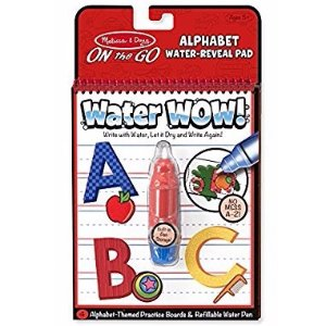$3.49Melissa & Doug On the Go Water Wow! Reusable Water-Reveal Activity Pad - Alphabet
