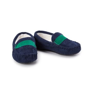 Stride Rite Blue & Green Madden Moccasin Slipper | zulily