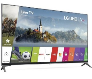 $849LG 60UJ7700 60-inch 4K Super UHD HDR Smart TV