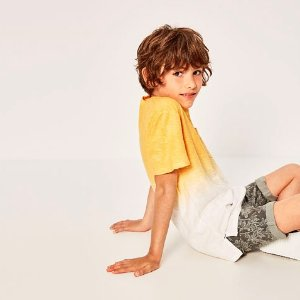 OMBRÉ T - SHIRT WITH POCKET-T-SHIRTS-BOY | 4-14 years-KIDS-SALE | ZARA United States