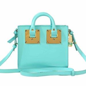 Box Albion Tote Bag Sophie Hulme Blue - Monnier Frères