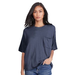 Boxy Cashmere Pocket Tee - Cashmere � Sweaters - RalphLauren.com