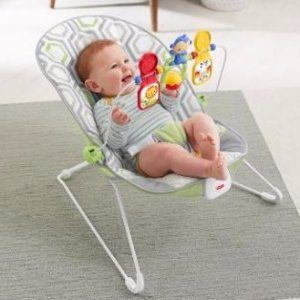 $17Fisher-Price Baby's Bouncer - Pink Ellipse