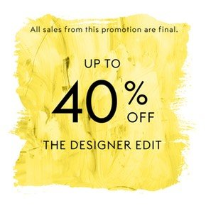 Extra 40% Off + Up to 72% OffChloe, Burberry, Sandro & More Designer @ THE OUTNET
