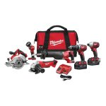 Select Milwaukee Lithium-Ion Power Tools Sale @ Home Depot
