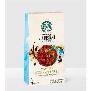 VIA® Instant Vanilla Iced Coffee | Starbucks® Store