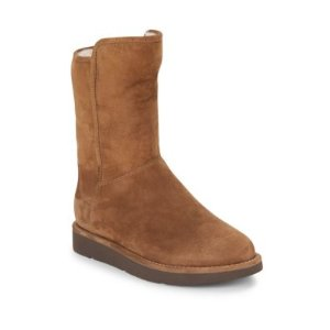 Abree Shearling-Lined Suede Boots