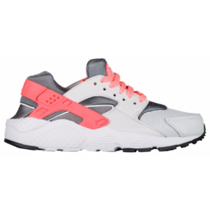 Nike Huarache Run - Girls' Grade School - Running - Shoes - Pure Platinum/Lava Glow/Cool Grey/White