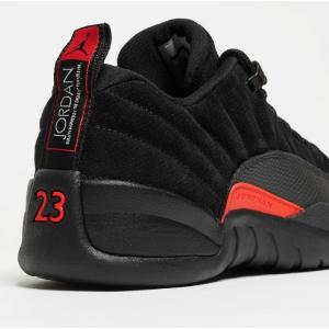 Jordan Retro 12 Low - Men's - Basketball - Shoes - Black/Max Orange/Anthracite/Metallic Silver