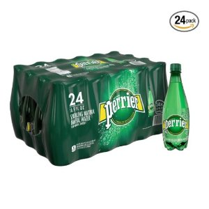 $11Perrier Sparkling Natural Mineral Water, 16.9-ounce  (Pack of 24)