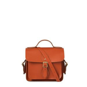 Amber Small Traveller With Side Pockets | The Cambridge Satchel Company |