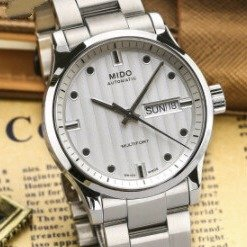 Lowest price $399 (Orig$920)MIDO Multifort Automatic Silver Dial Men's Watch No. M005.830.11.031.80