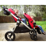 Baby Jogger 2016 City Select Single - Ruby plus Second Seat