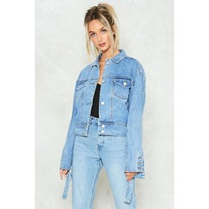Cut and Paste Denim Jacket | Shop Clothes at Nasty Gal!