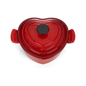 Le Creuset Red Heart Shape Casserole Dish | Harrods.com