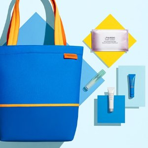 Free Summer Weekend KitWith $65 Purchase @ Shiseido