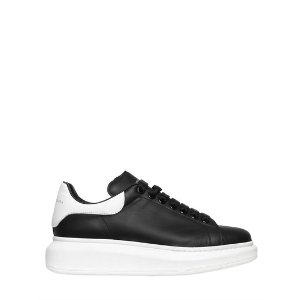 ALEXANDER MCQUEEN - 45MM LEATHER SNEAKERS