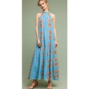 Neoma Silk Maxi Dress