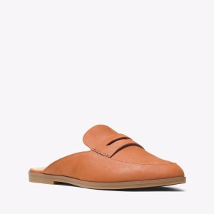 Geri Leather Slide | Michael Kors