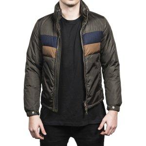 Moncler Moncler Men's Vilbert Padded Tri-Color Zip-Up Jacket | Bluefly.Com
