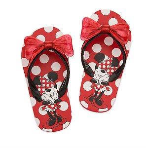 Minnie Mouse Flip Flops for Kids | Disney Store