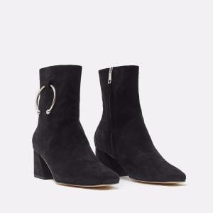 Nizip Black Suede Boots