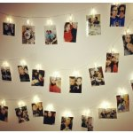Photo Clips String Lights, 20 LED Battery Operated Starry Firefly