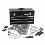Husky Mechanics Tool Set in Metal Box (200-Piece)