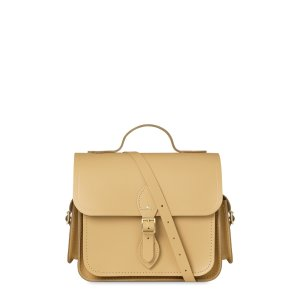 Dark Brown Large Traveller Bag with Side Pockets | The Cambridge Satchel Company