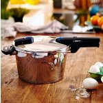 Fissler 60030004000 Vitaquick Pressure Cooker 4.5 Litre