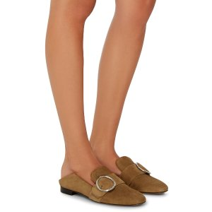 Suede Lottie Soft Loafer by Bally