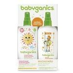 Babyganics 婴儿保湿防晒喷雾大瓶装 6oz加天然防虫喷雾大瓶装 6oz 套装