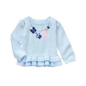 Toddler Girls Soft Jasmine Necklace Top by Gymboree
