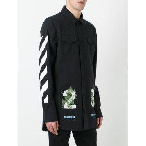 Off-White Diagonal Stripe Shirt - Farfetch