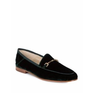 Loraine Velour Loafers