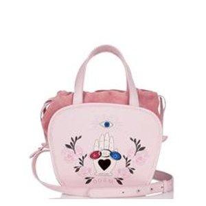 Rosetta Cross Body Bag Blush Pink