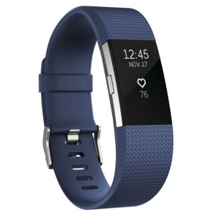 FitBit Charge 2 Fitness Tracker Large - Blue