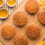 Chinese Mooncake and Mooncake Molds