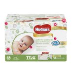 Huggies Natural Care Plus Baby Wipes 1,152-count
