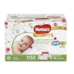 Huggies Natural Care 温和配方加厚婴儿湿巾 1152张