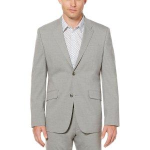 Modern Heathered Suit Jacket - Perry Ellis