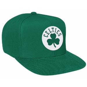 Mitchell & Ness NBA Solid Snapback - Men's - Accessories - Boston Celtics - Green