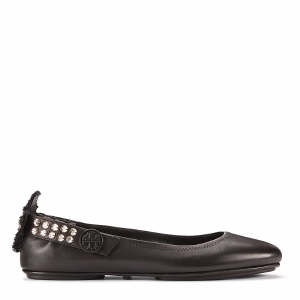 Tory Burch Minnie Embellished Two-way Ballet Flat