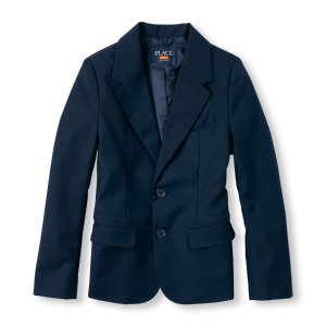 Boys Uniform Long Sleeve Blazer   The Children's Place