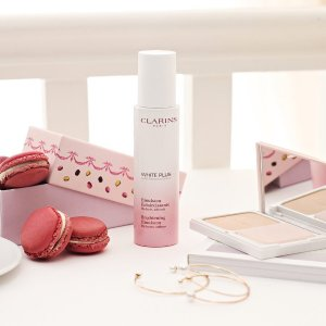 Compose Your Free 6-piece giftWith any $100 order + Free Shipping with any order @ Clarins