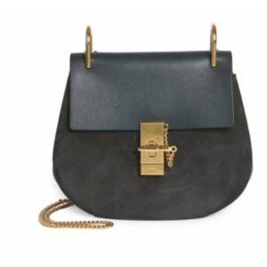 Chlo� - Drew Small Suede & Leather Saddle Crossbody Bag - saks.com
